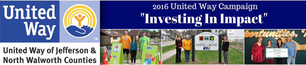 United Way of Jefferson & North Walworth Counties